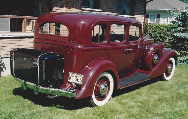 Antique cars for sale for 1934 pontiac 4 door sedan