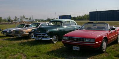 Some of our member's cars.